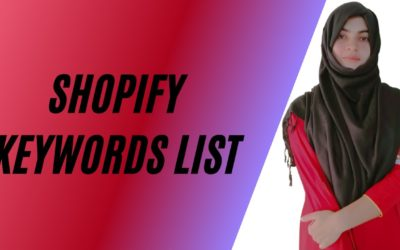 Shopify Keywords List   Earn from Shopify   Low Competition Keywords for Shopify