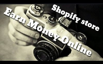 Setting up my shopify store   Shopify.com   Earn Money Online