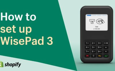 How to set up the WisePad 3 card reader    Shopify Help Center