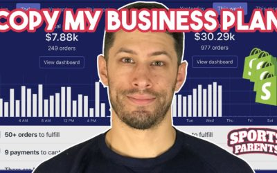 Copy My Shopify Print On Demand Business Plan For The Sports Niche