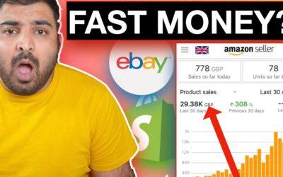Which Platform will Make You Money Fast? Comparison between eBay Amazon Shopify