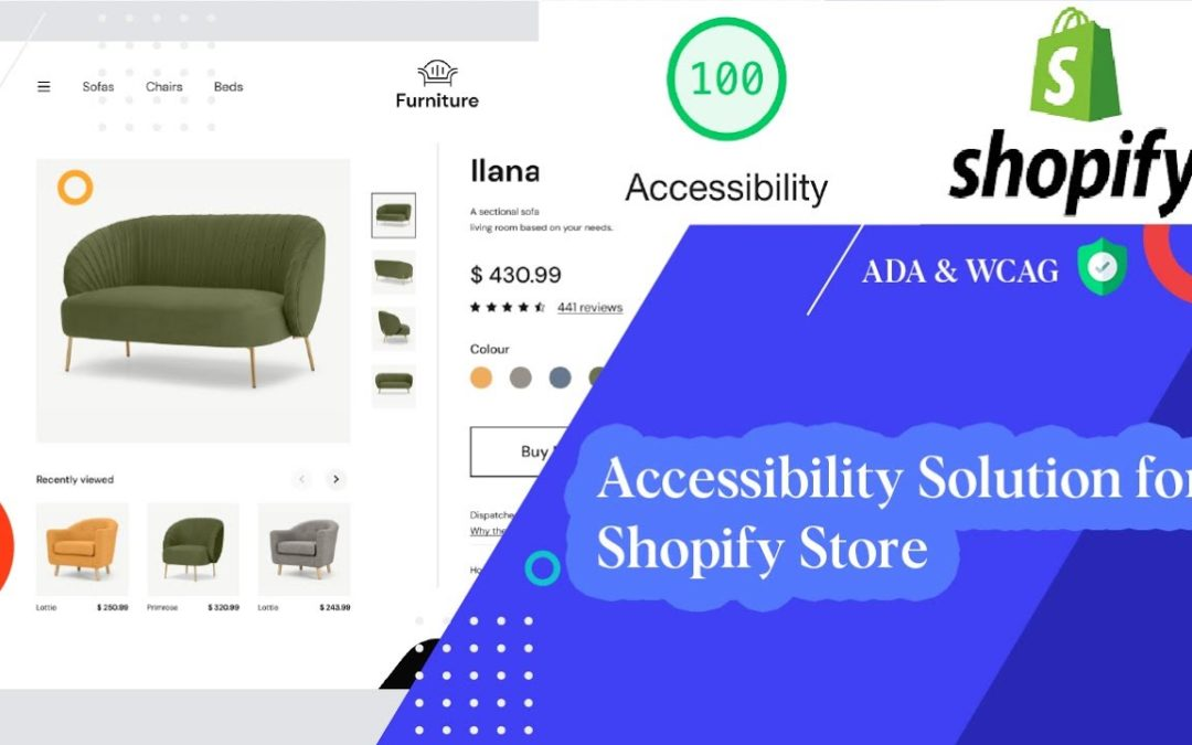 Web Accessibility Solution for Shopify Store (ADA & WCAG)