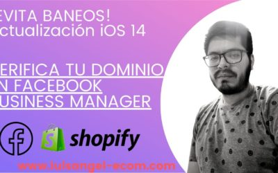 ✅ VERIFICAR tu Dominio Web en Facebook Business Manager【2021】Shopify – iOS 14